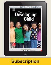 Glencoe The Developing Child, Online Teacher Center, 6 year subscription