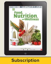 Glencoe Food, Nutrition, and Wellness, Online Teacher Center, 6 year subscription