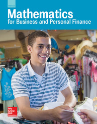 Glencoe Mathematics for Business and Personal Finance, Student Edition