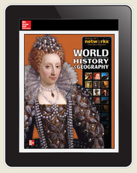 World History and Geography, LearnSmart, Student Edition, Embedded, 1-year subscription