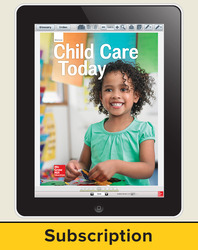 Glencoe Child Care Today, Online Student Edition, 1 year subscription