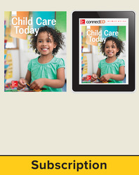 Glencoe Childcare Today, Print Student Edition and Online SE Bundle, 6 year subscription