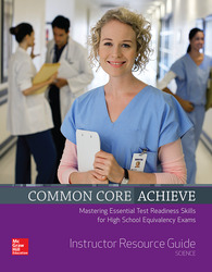 Common Core Achieve, Science Instructor Guide