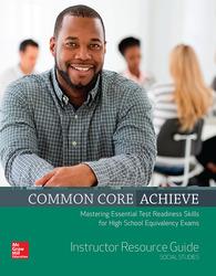 Common Core Achieve, Social Studies Instructor Guide