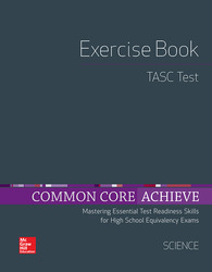 Common Core Achieve, TASC Exercise Book Science