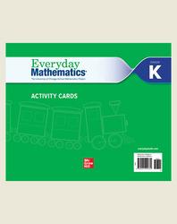 Everyday Mathematics 4, Grade K, Activity Cards