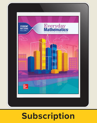 Everyday Mathematics 4, Grade 4, All-Digital Student Material Set - 5 Year Subscription