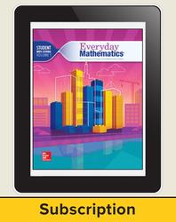 Everyday Mathematics 4, Grade 4, All-Digital Student Material Set - 5 Year Subscription