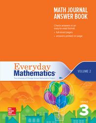 Everyday Mathematics 4th Edition, Grade 3, Math Journal Answers Teacher Book Volume 2
