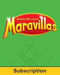 Lectura Maravillas, Grade 4, Literature Anthology, 6 Year Subscription