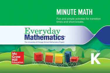 Everyday Mathematics 4, Grade K, Minute Math