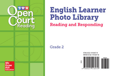 Open Court Reading EL Photo Library Reading and Responding Card Set Grade 2