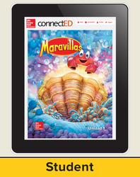 Maravillas Student Workspace (6-Year Subscription), Kindergarten