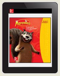 Maravillas Teacher Workspace (6-Year Subscription), Grade 1