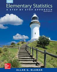 Bluman, Elementary Statistics: A Step by Step Approach, © 2015, 9e, eBook, 6-year subscription