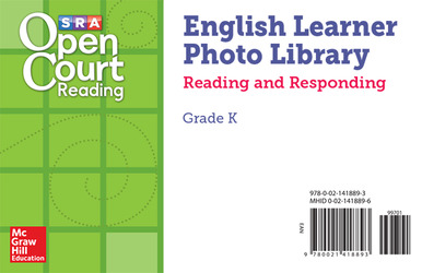 Open Court Reading EL Photo Library Reading and Responding Card Set Grade K