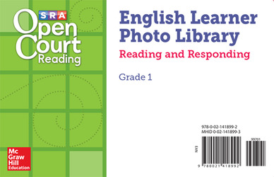 Open Court Reading EL Photo Library Reading and Responding Card Set Grade 1