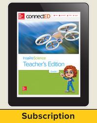 Inspire Science Grade 1, Online Teacher Center, 6-Year Subscription