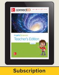 Inspire Science Grade 2, Online Teacher Center, 6-Year Subscription