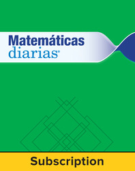 Everyday Math Spanish Digital Student Materials Set 1 Year Subscription Grade K