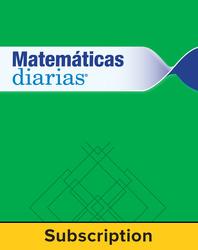 Everyday Math Spanish Digital Student Materials Set 1 Year Subscription Grade K