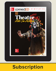 Glencoe Theatre: Art in Action, Online Student Edition, 6 year subscription