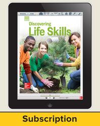Glencoe Discovering Life Skills, Online Teacher Center, 6 year subscription