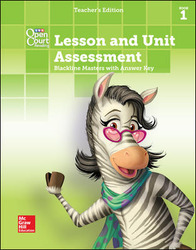Open Court Reading, Grade 2, Lesson and Unit Assessment BLMs with Answer Key, Book 1