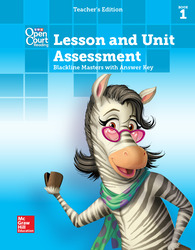 Open Court Reading, Grade 3, Lesson and Unit Assessment BLMs with Answer Key, Book 1