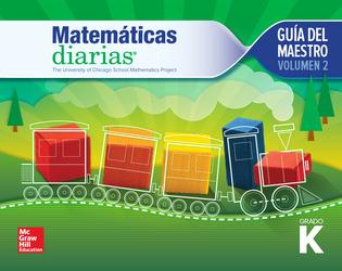 Everyday Mathematics 4th Edition, Grade K, Spanish Teacher's Guide, Vol 2