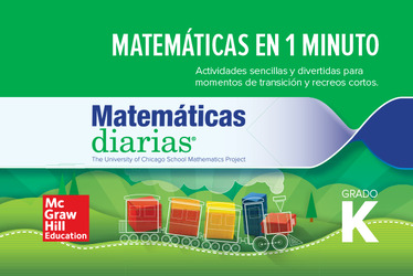 Everyday Mathematics 4th Edition, Grade K, Spanish Minute Math