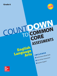 Countdown to Common Core Assessment Grade 6: ELA