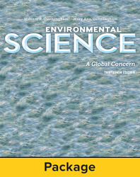 Cunningham, Environmental Science: A Global Concern, © 2015 13e, Digital & Print Student Bundle, 6-year subscription