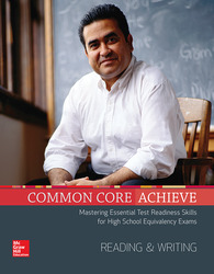 Common Core Achieve, Reading And Writing Subject Module