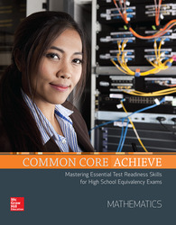 Common Core Achieve, Mathematics Subject Module