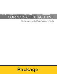 Common Core Achieve, Subject Module 25 Copy Set With Instructor Guide