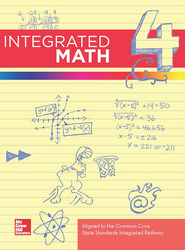 Integrated Math, Course 4, Online Student Edition, 1-year Subscription