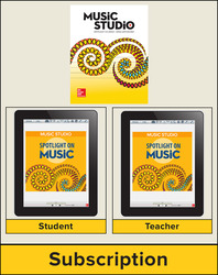 Spotlight on Music, Grade K Digital Bundle, 1 Year