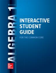 Algebra 1 Interactive Student Guide