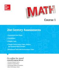 Glencoe Math, Course 1, 21st Century Assessment Masters