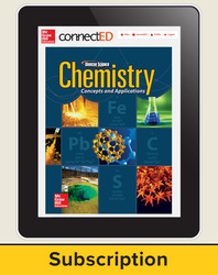 Chemistry: Concepts and Applications, eTeacherEdition Online, 1-year Subscription
