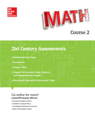Glencoe Math, Course 2, 21st Century Assessment Masters