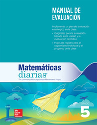 Everyday Mathematics 4th Edition, Grade 5, Spanish Assessment Handbook