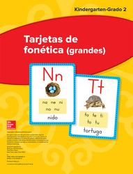 Maravillas Sound Spelling Large Cards, Grades K-2