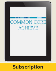 Common Core Achieve Interactive LAN-based