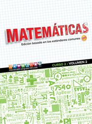 Glencoe Math, Course 2, Volume 2, Spanish Student Edition