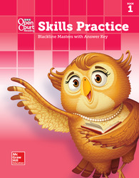 Open Court Reading, Grade K, Skills Practice BLM with Answer Key, Book 1