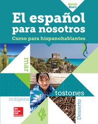 El Español para Nosotros 2014, Level 2, TE