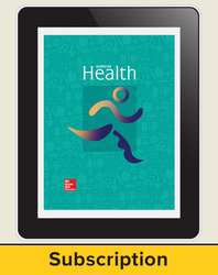 CUS Glencoe Health - 2014 Online Student Edition 1 year subscription