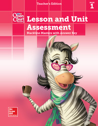 Open Court Reading, Grade K, Lesson and Unit Assessment BLMs with Answer Key, Book 1
